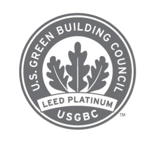 USGB logo LEED Platinum