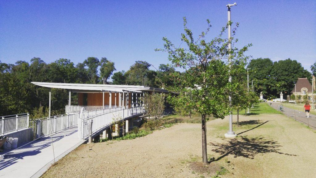 Frick Environmental Center building materials