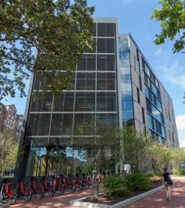 milken-institute-of-public-health-sustainability-bike-racks
