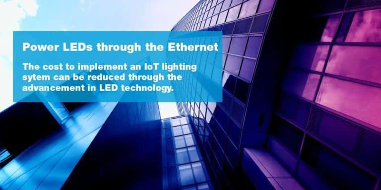 物联网,LED,照明以及工作场所规划的未来