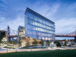 Tata Innovation Center Bridge at Cornell Tech