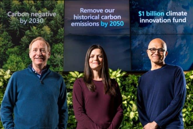 Microsoft Co2 pledge