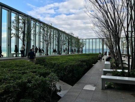 Japanese sky garden
