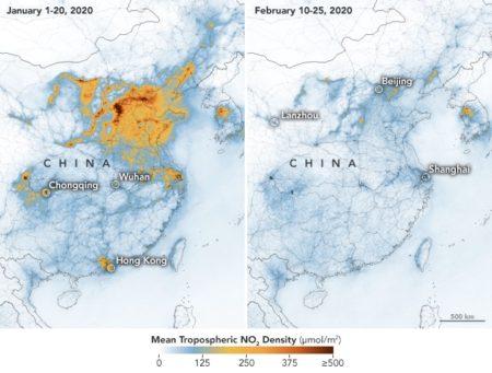 Coronavirus impact on carbon in china