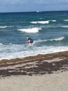 Dan McColley Surfing