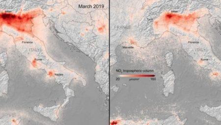 Air Quality COVID Europe